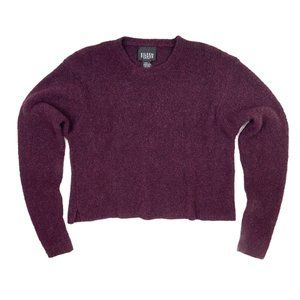 EILEEN FISHER Cashmere Wool Blend Cropped Sweater